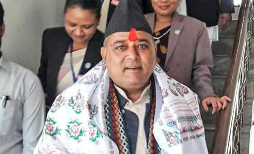 लुम्बिनी प्रदेश राष्ट्रियसभा उपनिर्वाचनमा कांग्रेसका उम्मेदवार दृगनारायण पाण्डेय निर्वाचित