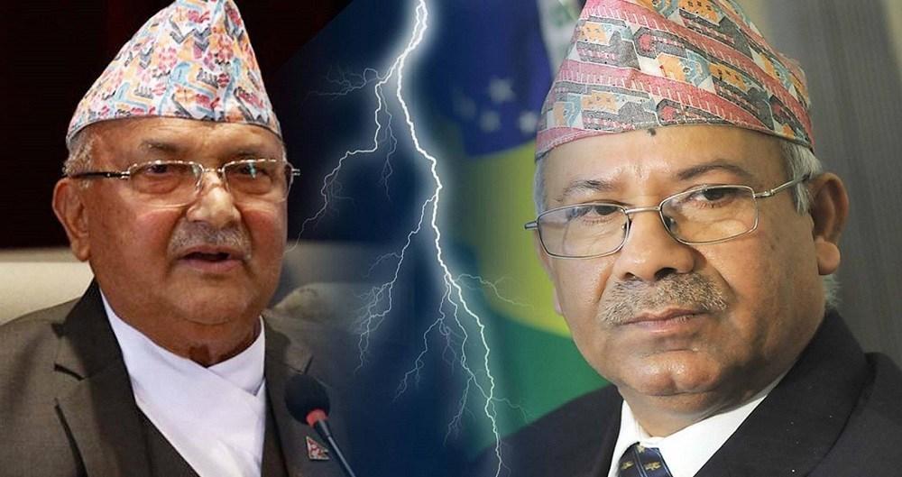 एमालेबाट बिभाजनकाे अन्तिम तयारीमा खनाल- नेपाल समुह : नयाँ पार्टीको नाम एमाले समाजवादी र चुनाब चिन्ह कलम