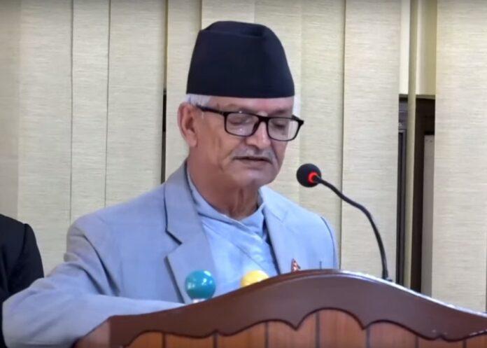 वाग्मती प्रदेश: सरकारका नीति तथा कार्यक्रमका पक्षमा मतदान गर्न एमाले संसदीय दलको निर्देशन