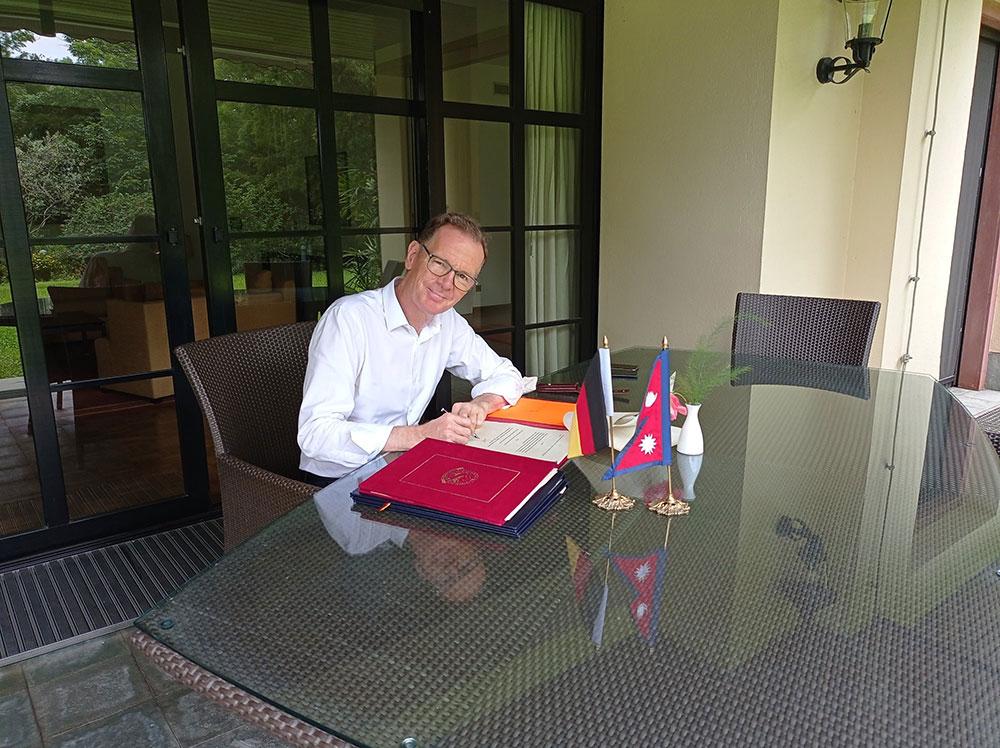 जर्मनीद्वारा नेपाललाई ४ अर्ब ८९ करोड सहायताको घोषणा